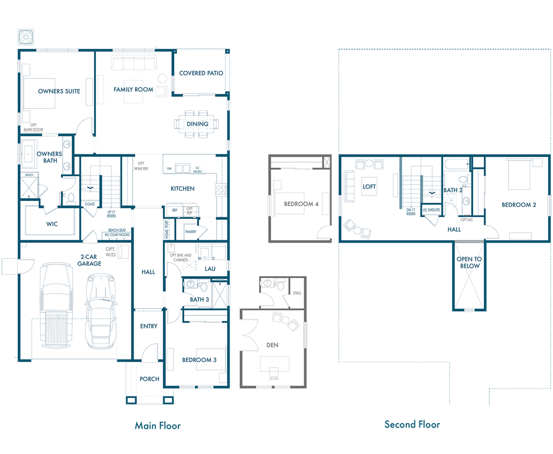 Haven River Islands Floorplan